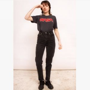 Vintage Calvin Klein Black Straight Leg Jeans